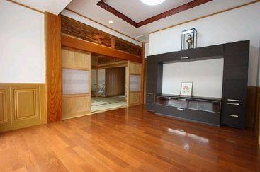 −リビングルームー 木造注文住宅施工例