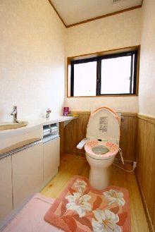 −トイレー 木造注文住宅施工例
